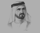 Sheikh Mohammed bin Rashid Al Maktoum, Vice-President and Prime Minister of the UAE and Ruler of Dubai