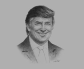 Donald Trump, Chairman and President, The Trump Organisation