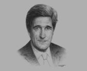 John Kerry, US Secretary of State, on diplomatic solutions and a successful relationship
