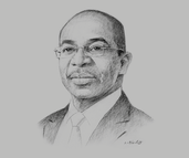 Claude Isaac Dé, Minister of Construction, Housing, Sanitation and Urbanism