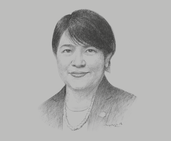 Daw Sandar Oo, Managing Director, Myanma Insurance; and Chairperson, Myanmar Insurance Association