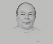 U Thaung Tun, Chairman, Myanmar Investment Commission; and Minister of Investment and Foreign Economic Relations