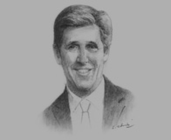 John Kerry, US Senator and Chairman, Senate Foreign Relations Committee