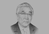 Sh. Gungaadorj, Former Mongolian Prime Minister, and Head, Mongolian Farmers and Flour Producers Association