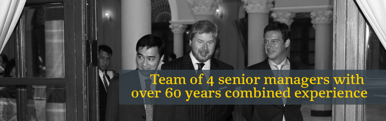 Team with over 60 years combined experience in MENA region