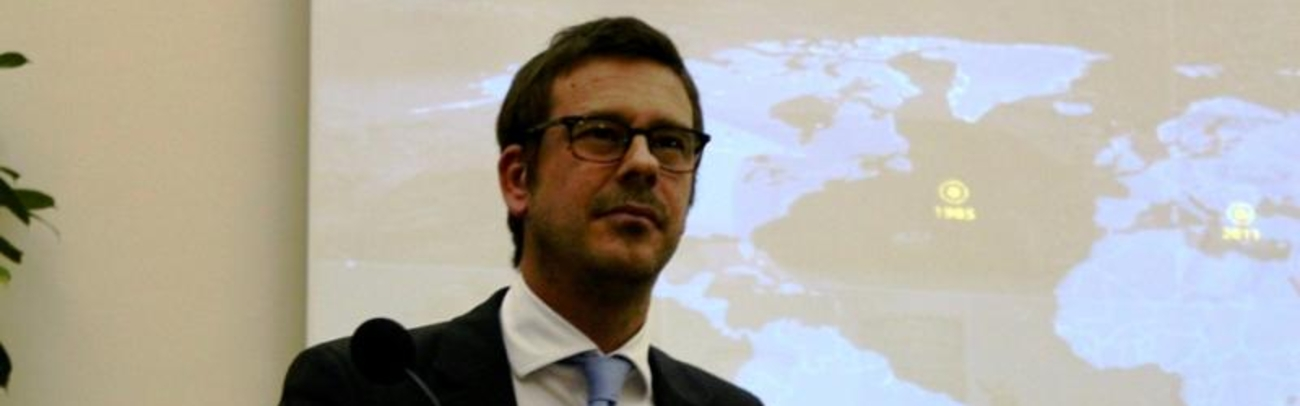 Andrew Jeffreys, CEO, presents at St Andrews University, UK