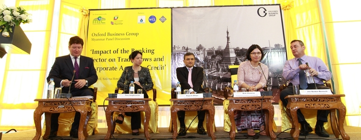 Speech by Paulius Kuncinas, OBG Managing Editor, at Myanmar Round-Table Banking Conference