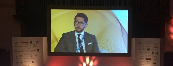 Rob Tashima, speaking at the Global African Investment Summit