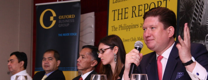 OBG launches its annual investment report on Philippines, The Report Philippines: 2015