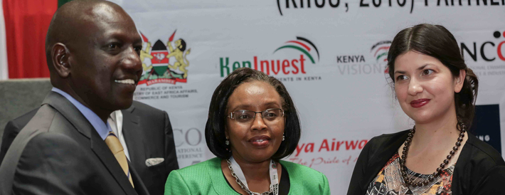 OBG launches its annual investment report on Kenya, The Report Kenya: 2016 at Kenya International Investment and Trade Conference