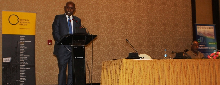 Minister of economy, speaking at the report launch event