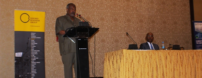 President of Djibouti, speaking at the report launch event
