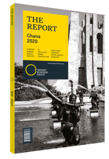 Cover of The Report: Ghana 2020