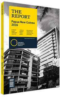 Cover of The Report: Papua New Guinea 2016