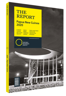Cover of The Report: Papua New Guinea 2020